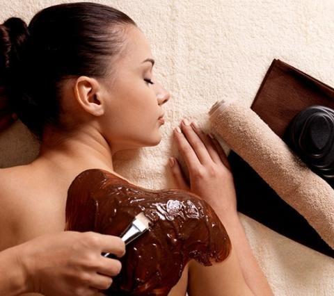 Exfoliación y Envoltura de cacao Patricia Vilchez
